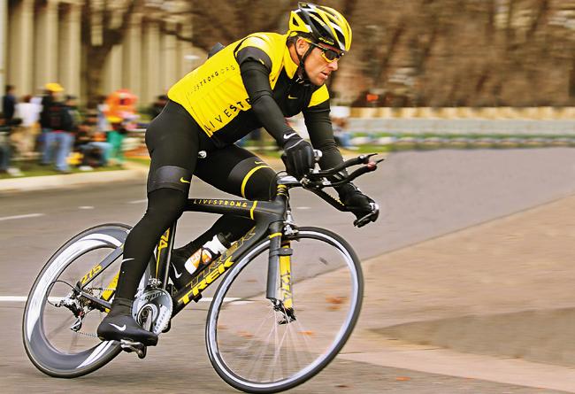 Lance Armstrong / Crédito: Divulgação