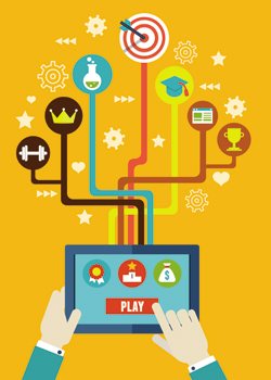 Gamification / Crédito: Shutterstock