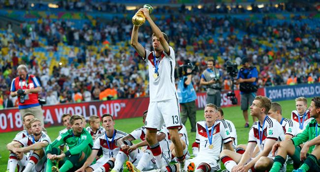 Equipe Alemã - Copa do Mundo - Crédito: Reuters